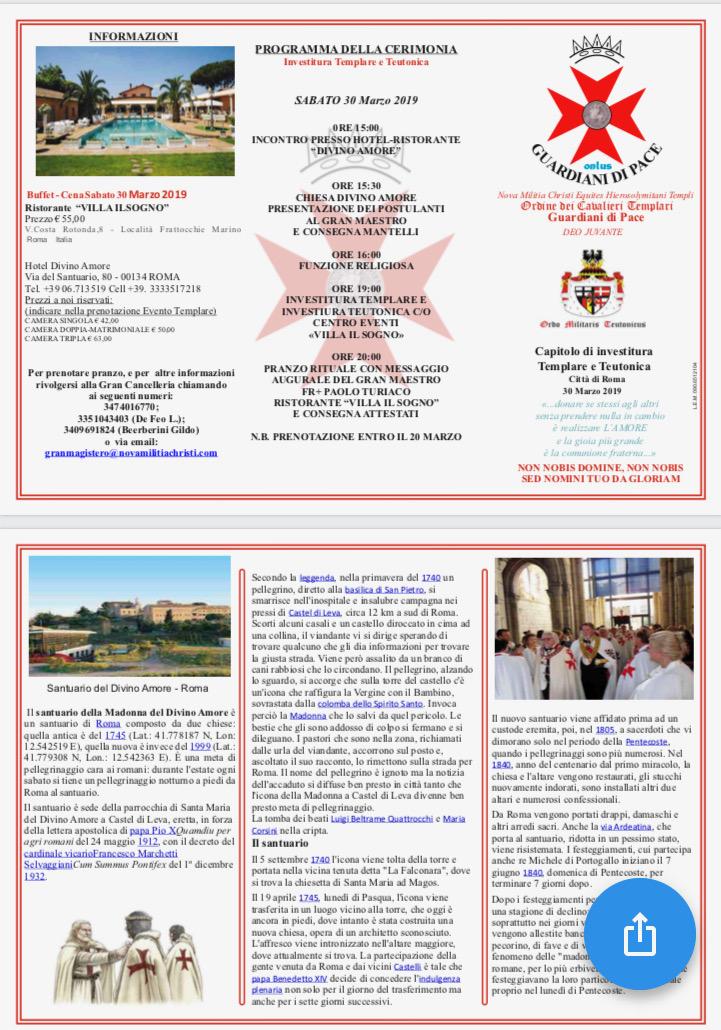 INVITO ROMA 30032019
